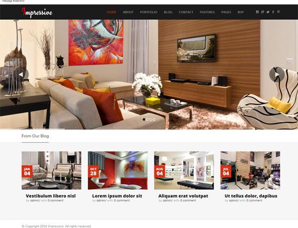 Thiết kế website cửa hàng nội thất