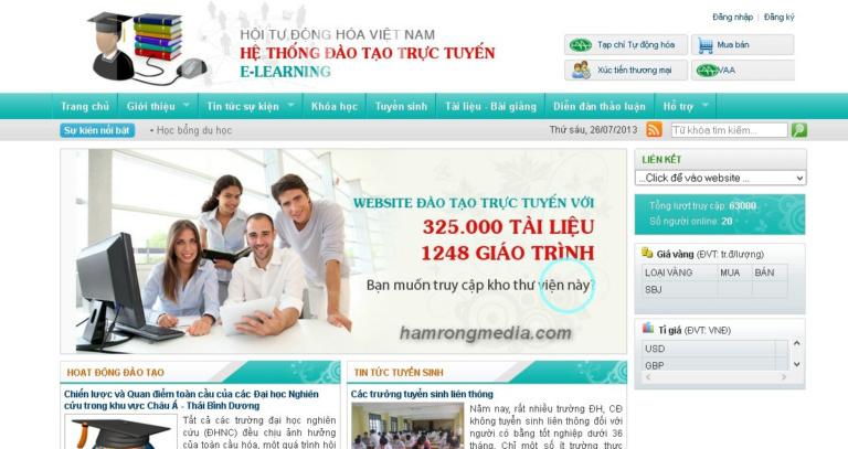 Thiết kế website giáo dục trường học chuyên nghiệp tại TPHCM