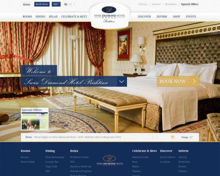 Thiết kế website khách san nhà hàng chuyên nghiệp