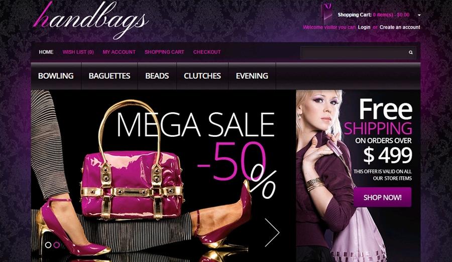 Thiết kế website bán túi xách chuyên nghiệp chuẩn seo