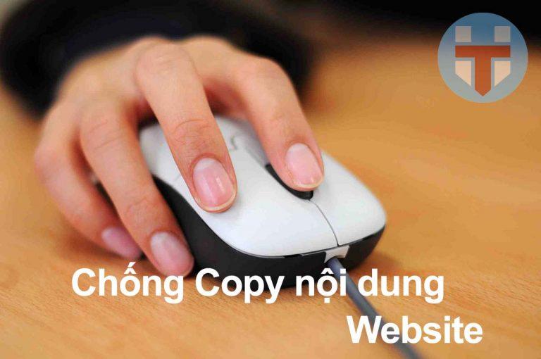 Hướng dẫn cách chống copy bài viết trên web và wordpress