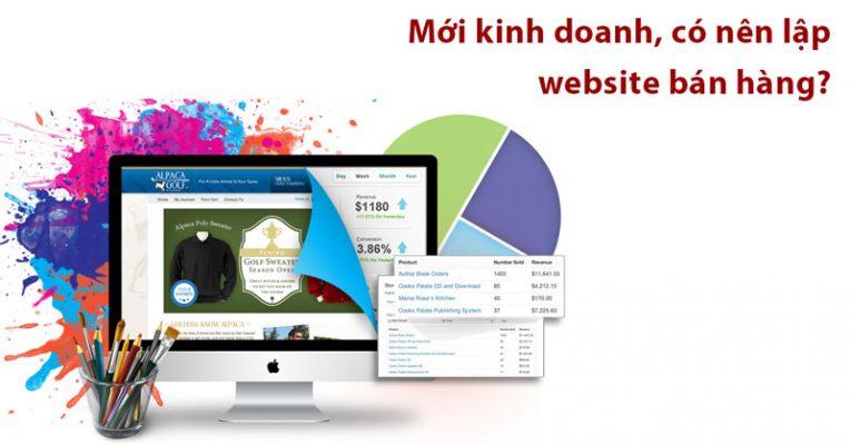Có nên lập website bán hàng?