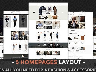 Template HTML E-commerce Bootstrap Template